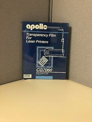 Apollo transparency film for laser printers CG7060