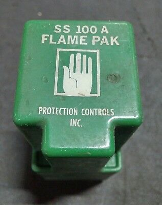 Protection Controls Ss 100 A Flame Pak **used**