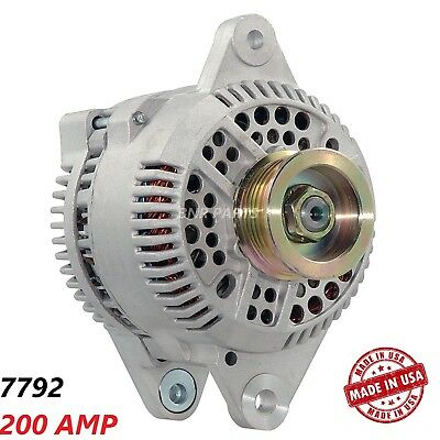 200 Amp 7793 New Alternator Ford Escort Mercury Tracer High Output Performance