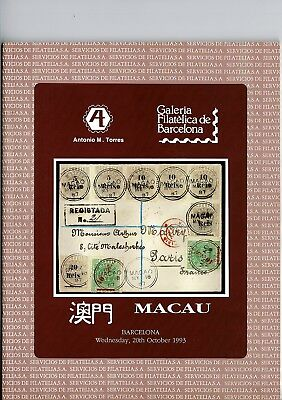 Auction Catalogue Macau 1993