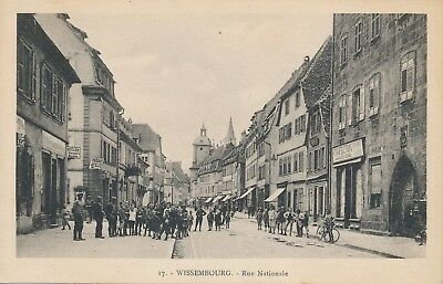CPA - France - (67) Bas Rhin - Wissembourg - Rue Nationale