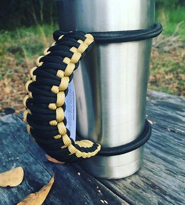 Handmade NFL Paracord Universal Cup Handle