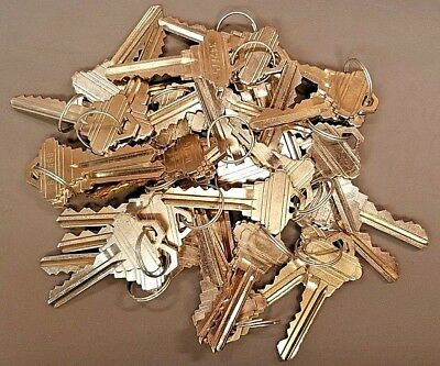 20x pairs (40 Total) SC4 6 pin (C Keyway) Factory Precut Nickel Plated Keys