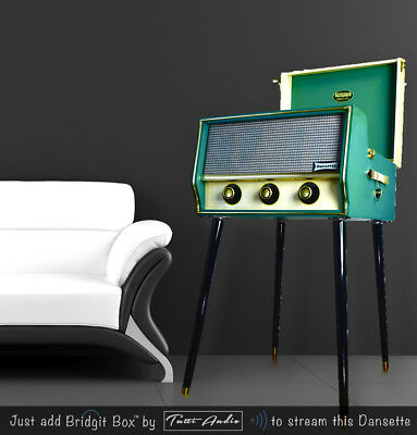 Dansette Conquest Auto Record Player - Outstanding Looks and Sound - Circa 1960