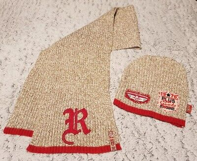 BNWOT Boys Hat And Scarf Set