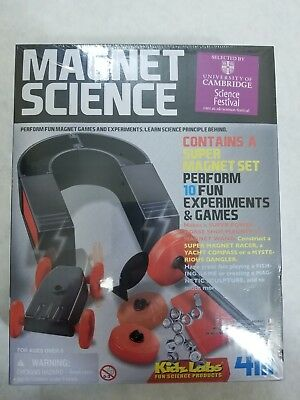 Kidzlab 4M - Fun Magnet Science Kit - Experiments and Games - Educational Toy