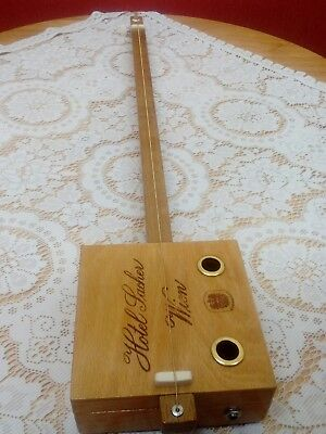 Hand made 1 string  diddly bow cigar box type  guitar
