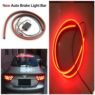 100cm Car LED Brake Warning Light Driving Night Rider Scanning Flowing Light Bar