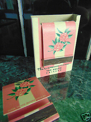 Vintage matchbooks & adverap cover from The Camellia House in Chicago Illinois