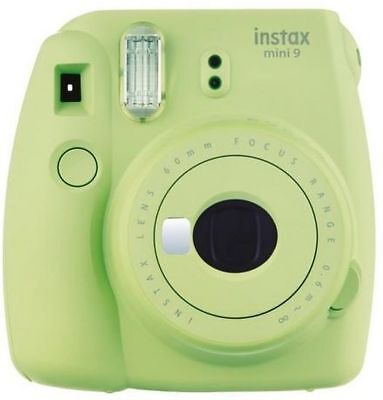 Fujifilm Instax Mini 9 Lime Green Instant Camera Inc.1Film