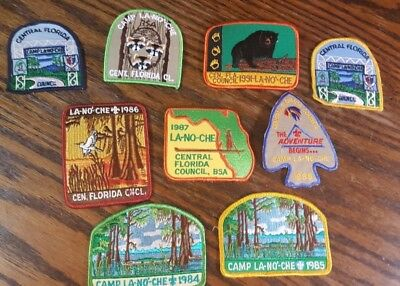 VINTAGE - Boy Scouts of America - Lot of Patches - NEW CONDITION