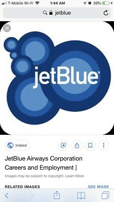 Jetblue Roundtrip Travel Certificate Any City To Any City Use By April 1 2019