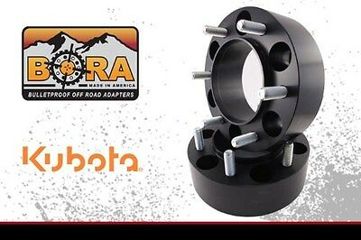 "Kubota B 3030 2.00"" Rear Wheel Spacers (2) by BORA Off Road - Made in the USA"