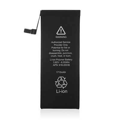 New 1715mAh Li-ion Battery Replacement With Flex Cable For Apple iPhone 6S