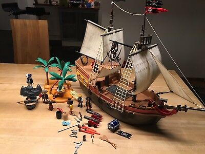Playmobil 5135-A  Piratenschiff, Beuteschiff