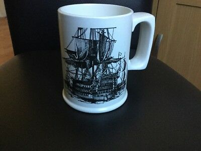 Arthur Wood HMS Victory Tankard Lovely Piece/Condition Use/Display!