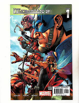 Ultimates 2 #1 (2005, Marvel) VF- Mark Millar Bryan Hitch Captain America