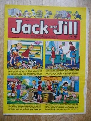 Collectible Jack and Jill Vintage Children's Comic - 14th June, 1969