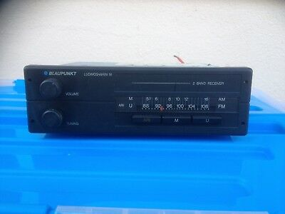 Blaupunkt Ludwigshafen 18, Youngtimer-Radio, Bj. 1989