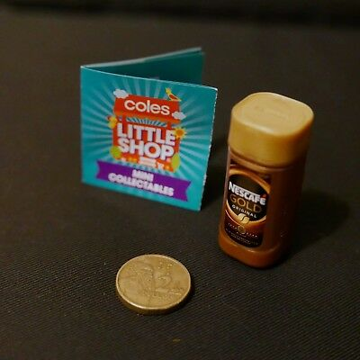 Coles Little Shop Mini Collectable Nescafe Gold Original Instant Coffee