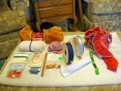 Lot Of Sewing Notions  Misc lot Of Sewing & Craft Items