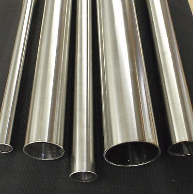 "STAINLESS STEEL TUBING 1"" O.D. X 12 INCH LENGTH X 1/16"" WALL TUBE PIPE TB25x12"