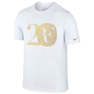 NikeCourt RF 20 tee - celebrate Federer's 20th in style - adult L