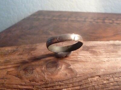 Viking Norse Bronze Ring with Engravings-Runes?-British Detecting Find