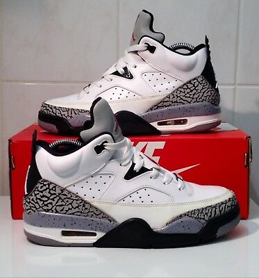 quality design dff32 81488 NIKE AIR JORDAN SON OF MARS LOW Limited WHITE  CEMENT off 2013 EUR40 UK6 MAX