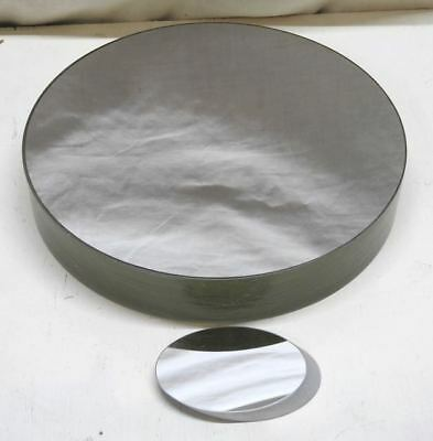 Astronomical Parabolic Mirror by Jim Hysom, 10 inch diameter with matching flat.