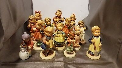 Lot Of 14 Goebel Porcelain Figurines - Excellent Condition - Germany