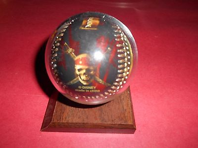 Disney - Walt Disney World Pirates Of The Caribbean Baseball with Holder - New