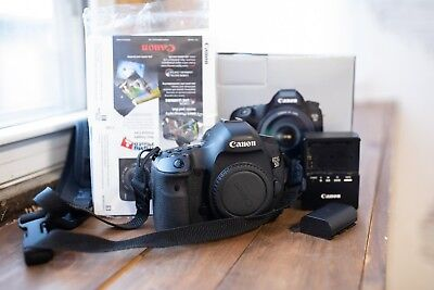 Canon EOS 5D Mark III 22.3MP Digital SLR Camera - Black (Body Only)