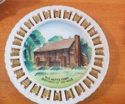 Missouri old matts cabin wall plaque