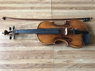Early Vintage Signed John Juzek Prague Violin Made in Czechoslovakia !!!