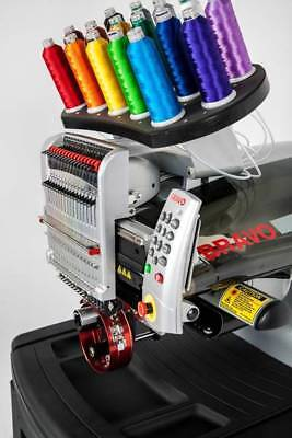 New Melco Bravo C 16 Needle Commercial Embroidery Machine Financing Available