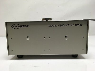 Hach Carle Model 4300 Valve Oven 1.5 Amps 50/60 Hz