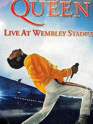QUEEN LIVE WEMBLEY NEW! DVD,Live Concert,Freddie Mercury,28 songs,1.5 hours