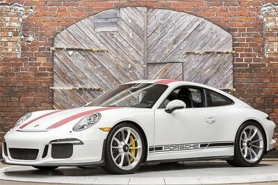 2016 Porsche 911 R 6-Speed Manual 16 500 hp 4.0L Leather Single Mass Flywheel Front Axle Lift Sport Chrono Nav
