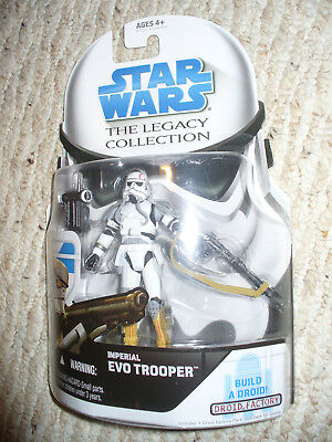"Star Wars The Legacy Collection 3 3/4"" Figure - Imperial EVO Trooper - GH No 4"
