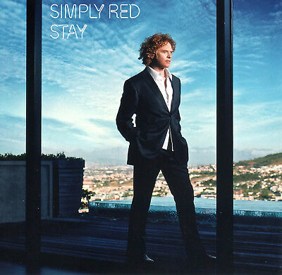SIMPLY RED - STAY - ft. She's Not Over You.  CD