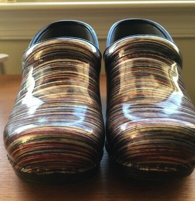 Dansko Professional XP 41 Patten Leather Clogs