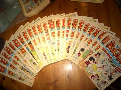 Beano comics used 1993 editions 2633 to 2643, 2657 to 2664, '54,'55, '66 '68,'93