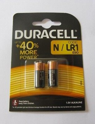 Duracell MN9100 High Power N Security Alkaline 1.5V Batteries - Pack of 2 ~ 2023