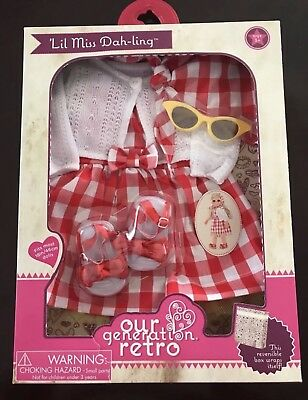 Our Generation Retro Doll Clothes BRAND NEW