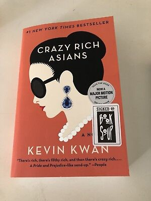 Crazy Rich Asians Kevin Kwan SIGNED BOOK
