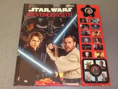Star Wars: Revenge of the Sith Interactive Play-a-Sound Book