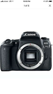 Canon EOS 80-D 24.2 MP (body Only)