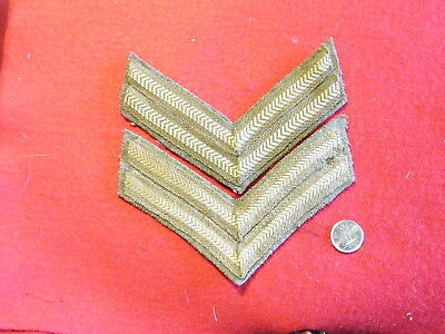 Original Canadian - WWII Matched Corporal Rank Chevrons