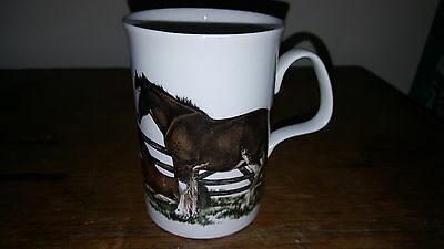 Original Roy Kirkham Shirehorses  Mug Fine Bone China Look